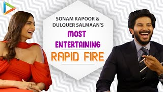 LOL: Sonam & Dulquer's HUNGAMEDAAR Rapid Fire On SRK | Salman | Ranbir | Ranveer | Alia