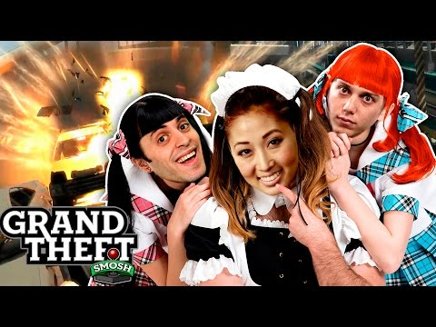 RISE OF LADY BABY! (Grand Theft Smosh)
