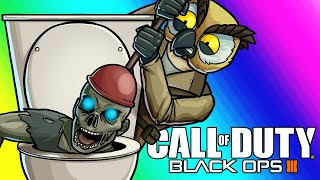 Black Ops 3 Zombies Funny Moments - Plumbing the Meme Lab!