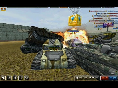 Tanki Online Gold Box 1000&3000 may day 2014 & rank up from mohammed95s