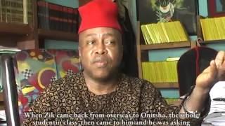 KEN SARO WIWA REGRETED NOT WORKING WITH THE IGBOS ..... GODDY UWAZULIKE (AKA IKENGA)