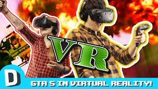 We Try Not to Barf in GTA5 VR