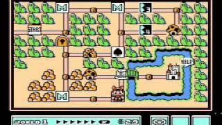 Super Mario Bros. 3 (NES) - World 1 Tricks, Shortcuts, Secrets and More (Including the Coin Ship)!
