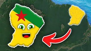 French Guiana Geography/French Guiana Overseas Department