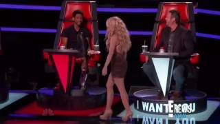 Shakira  a Sexy Move.  The voise USA 2017
