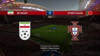 FIFA 18 WORLD CUP PREDICTIONS IR IRAN VS PORTUGAL