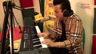 Adnan Sami sings LIVE in the Radio Mirchi Studios