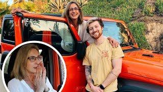 SURPRISING MOM WITH DREAM CAR FOR CHRISTMAS!! (emotional)