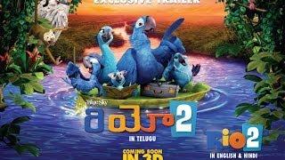 RIO: 2 - Official Trailer Telugu [HD]