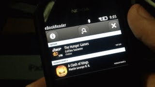 Symbian Apps: Ebook Reader Demoed on Nokia 808 (HD)