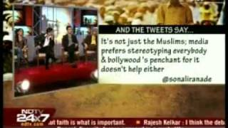 5. Dr. Zakir Naik, Shahrukh Khan, Karan Johar, Soha Ali Khan on NDTV with Barkha Dutt part 5