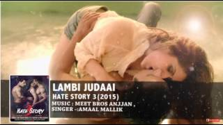 Hate Story 3 Songs | Arijit singh | Amaal Mallik | Zareen Khan, Sharman Joshi
