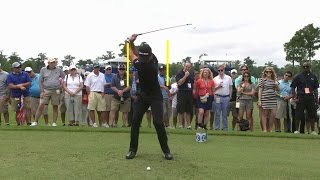 Jason Day's slo-mo swing is analyzed at RBC Canadian