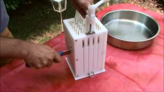 Greek Souvlaki-kebab skewer  Machine