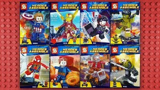 LEGO Marvel Avengers Infinity War Minifigures (knock-off) Sheng Yuan SY687