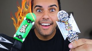 MOST DANGEROUS TECH DECK / FINGERBOARD MOD OF ALL TIME!!! (EXTREME FINGERBOARDING!!)