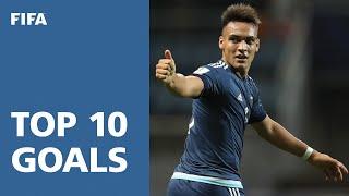 Top Ten Goals - FIFA U-20 World Cup Korea Rep. 2017