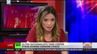 LBCI News-مذيعة قناة روسيا اليوم تستقيل على الهواء دفاعا عن رأيها الحر