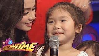 It's Showtime ToMiho: Aimi wants an iPad from Ninong Vhong