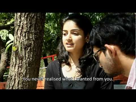 I TOUCH YOU (Love story of a blind girl and deaf & mute boy).Short Film