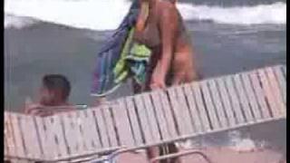 2 Nice Busty Girls on the Beach