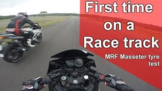 MRF Masseter tyre testing | Kari Motor speedway| With Zohair Ahmed and Vikas Rachamalla