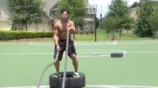 34 Battle Rope Exercise!!!