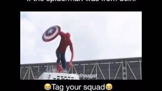 Spiderman from delhi