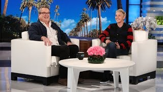 Eric Stonestreet Finally Gets His Scare Revenge on Ellen