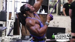 Ulisses Jr Training Back at MuscleWorks Gym