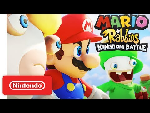 Mario Rabbids Kingdom Battle Official Game Trailer Nintendo E3 2017