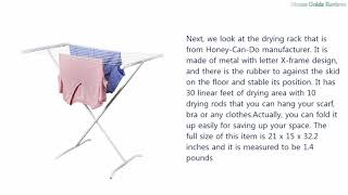 Best Clothes Drying Racks Top Highlights and Reviews