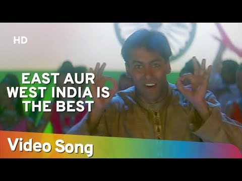 Xxx Mp4 East Or West India Is The Best Salman Khan Judwaa Songs Anu Malik 3gp Sex