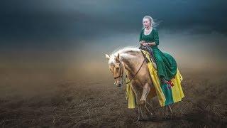 Horse Ride | Photoshop Manipulation Tutorial | Fantasy Light Photo Effects