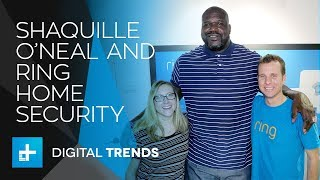 Shaq Talks Ring Home Security at CES 2018