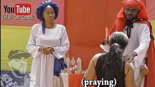 Chief Imo Comedy     Imo and Maggi during one of their spiritual work (okwu na uka episode 7)