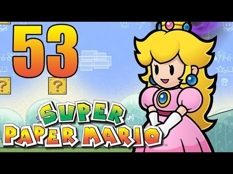 Super Paper Mario Blind 53 TABOO FRUIT