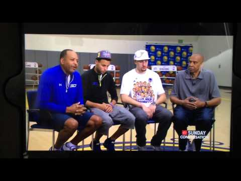Riley Curry Crashes Splash Brothers SportsCenter Father's Dat Interview