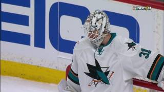 Sharks, Wild combine to score 4 goals in just over two minutes