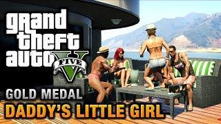 GTA 5 - Mission #7 - Daddy's Little Girl [100% Gold Medal Walkthrough]