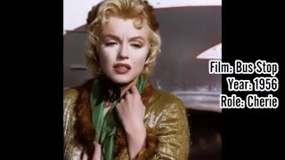 ★ Marilyn Monroe Movie List ★HD [Every film Marilyn appeared in!]