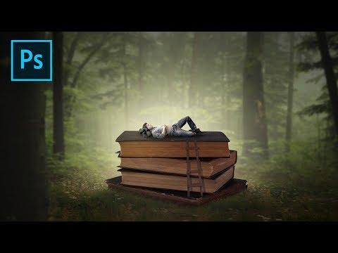 Xxx Mp4 Fantasy Slepping Book Photoshop Manipulation Tutorial Processing 3gp Sex