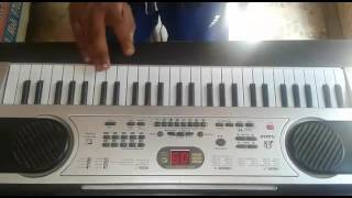 Zhingat music on piano cover song simpal methad
