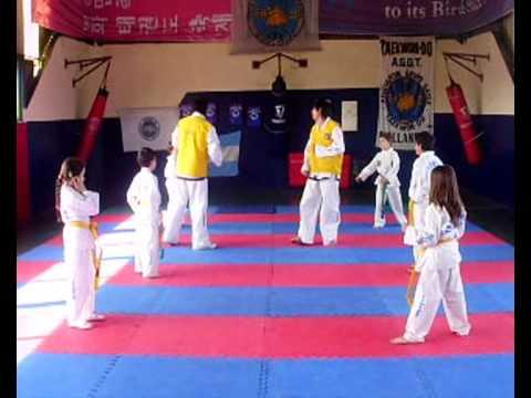 entrenamiento infantiles taekwon do pablo ferreyra IFAT