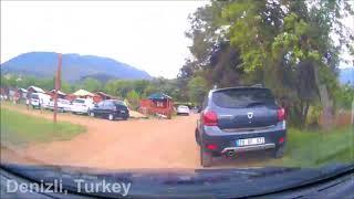 Denizli Rural Road Timelapse