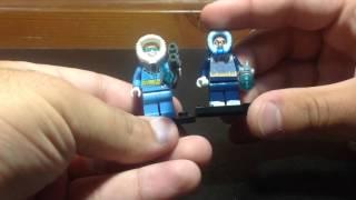 Lego Captain Cold Minifigure Comparison