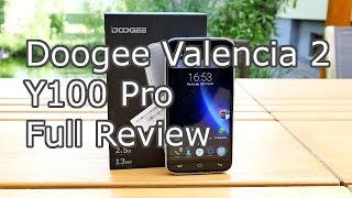 Doogee Valencia2 Y100 pro Review - Low budget Chinaphone - Metal Unibody ? Fake Specs ? [4K]