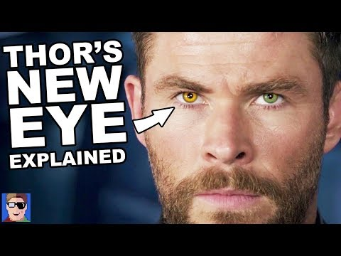 The TRUTH About Thor s New Eye Infinity War Theory