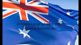 Australian National Anthem -