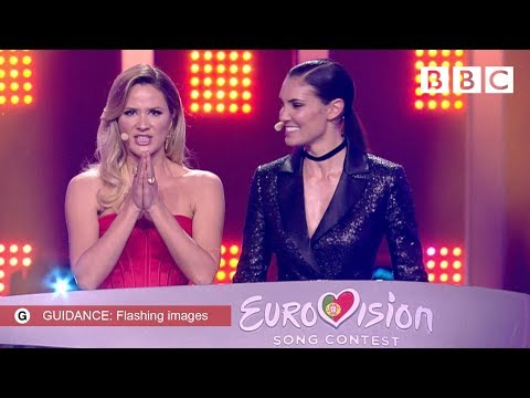 The first 10 songs to get through Semi Final 1 Qualifiers The Eurovision Song Contest 2018 BBC